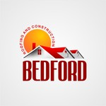 Bedford Roofing and Construction Logo - Entry #109
