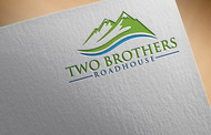 Two Brothers Roadhouse Logo - Entry #120