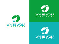 White Wolf Consulting (optional LLC) Logo - Entry #186