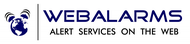 Logo for WebAlarms - Alert services on the web - Entry #180