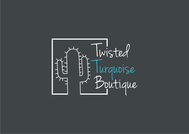 Twisted Turquoise Boutique Logo - Entry #17