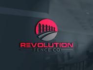 Revolution Fence Co. Logo - Entry #103