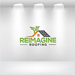 Reimagine Roofing Logo - Entry #343