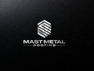 Mast Metal Roofing Logo - Entry #174