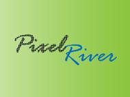 Pixel River Logo - Online Marketing Agency - Entry #134