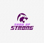 SHOW UP STRONG  Logo - Entry #41