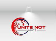 Unite not Ignite Logo - Entry #75