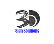 3D Sign Solutions Logo - Entry #88