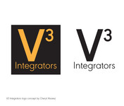 V3 Integrators Logo - Entry #232