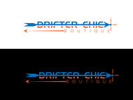 Drifter Chic Boutique Logo - Entry #353