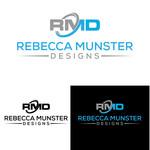 Rebecca Munster Designs (RMD) Logo - Entry #221