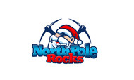 North Pole Rocks Logo - Entry #13