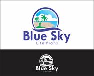 Blue Sky Life Plans Logo - Entry #208