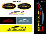 910 Auto Sales Logo - Entry #48