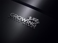 Growing Little Minds Early Learning Center or Growing Little Minds Logo - Entry #165