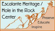 Escalante Heritage/ Hole in the Rock Center Logo - Entry #46