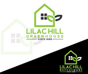 Lilac Hill Greenhouse Logo - Entry #72