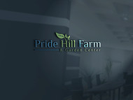 Pride Hill Farm & Garden Center Logo - Entry #28