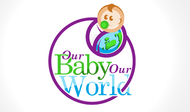 Logo for our Baby product store - Our Baby Our World - Entry #70