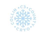C3 or c3 along with Collin County Cryo underneath  Logo - Entry #136