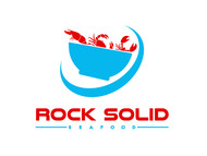 Rock Solid Seafood Logo - Entry #99