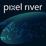 Pixel River Logo - Online Marketing Agency - Entry #202