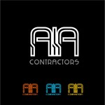 AIA CONTRACTORS Logo - Entry #114