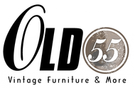 """""""OLD 55"""" - mid-century vintage furniture and wares store Logo - Entry #238"""