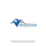 Revolution Roofing Logo - Entry #246