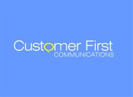 Customer First Communications Logo - Entry #83
