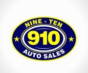 910 Auto Sales Logo - Entry #120