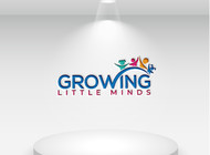 Growing Little Minds Early Learning Center or Growing Little Minds Logo - Entry #166