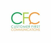 Customer First Communications Logo - Entry #88