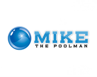 Mike the Poolman  Logo - Entry #73