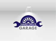 Hard drive garage Logo - Entry #71