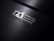 Rebecca Munster Designs (RMD) Logo - Entry #80