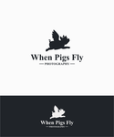 When Pigs Fly Photography Logo - Entry #38