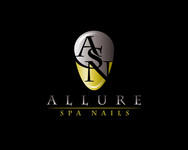 Allure Spa Nails Logo - Entry #7