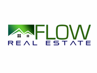 Flow Real Estate Logo - Entry #53
