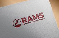 Rams Duty Free + Smoke & Booze Logo - Entry #8