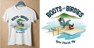 Boots and Birdies Logo - Entry #40