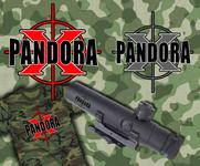 Pandora X Logo - Entry #49