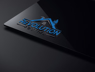 Revolution Roofing Logo - Entry #90