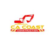 CA Coast Construction Logo - Entry #283
