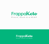 Frappaketo or frappaKeto or frappaketo uppercase or lowercase variations Logo - Entry #161