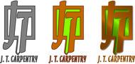 J.T. Carpentry Logo - Entry #102