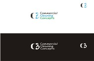 Commercial Cleaning Concepts Logo - Entry #44