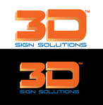 3D Sign Solutions Logo - Entry #85