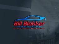 Bill Blokker Spraypainting Logo - Entry #73