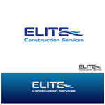 Elite Construction Services or ECS Logo - Entry #166